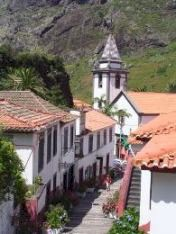 The village of Sao Vicente, Madeira